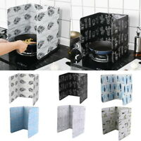 Home Kitchen Cook Frying Oil Splash Guard Baffle Gas Stove Removal Scald  Board