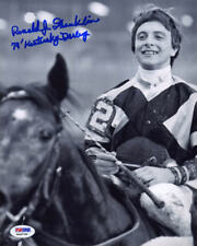Ron Franklin SIGNED 8x10 Photo Kentucky Derby Spectacular Bid PSA/DNA AUTOGRAPH