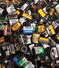 Lot of 100 Empty 35mm Film Canisters, Cassettes, Cartridges - Fuji Kodak Etc