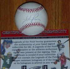San Francisco Giants Hunter Pence Autographed Signed OMLB BASEBALL COA Hologram