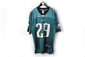 Reebok Philadelphia Eagles McCoy NFL Football Jersey T-Shirt Size M