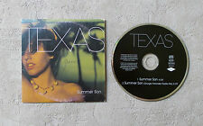 "CD AUDIO MUSIQUE / TEXAS ""SUMMER SON"" 1999 CD SINGLE 2 TRACKS MERCURY 562 244-2"