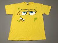 Spongebob Emotions Sublimation Print Adult Mens T-Shirt Spongebob Squarepants
