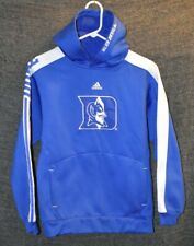 Duke Blue Devils Adiddas Pullover Embroided Blue Hoodie Size Large (14/16)