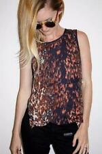 Rayon Animal Print Unbranded Hand-wash Only Tops & Blouses for Women