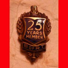 25 Years Member B of RT Railroad -  Pin