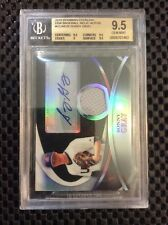 SONNY GRAY 2010 BOWMAN STERLING USA BLACK REFRACTOR JERSEY AUTO #/25 BGS 9.5/10