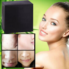 Skin Care Bamboo Charcoal Handmade Soap Whitening Oil-control Blackhead Removal