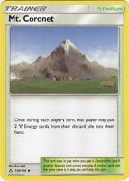 1x - Mt. Coronet - 130/156 - Uncommon NM, English Pokemon Sun & Moon Ultra Prism