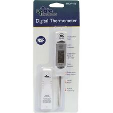 """Restaurant Update 7-1/2"""" Stainless Steel Professional Digital Thermometer"""
