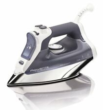 Rowenta Pro Master Micro Steam SprayIron Stainless Steel Soleplate Shut Off Iron
