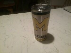 Tervis Michigan Wolverines Stainless Steel Tumbler w/ Lid - 20 oz