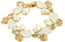 Kate Spade Crystal Chapel Bracelet NWT Perfect Blushing Gems Luminous Beauty!