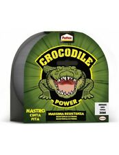 Pattex Crocodile Power Tape Nastro Telato  Extra Forte 30mt Grigio