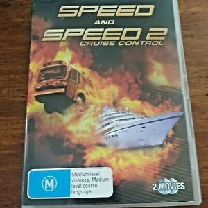 Speed and Speed 2 Cruise Control DVD R4 VERY GOOD – FREE POST