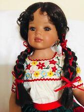 "Donna Rubert Roseline Pretty Dancer Doll 18"""