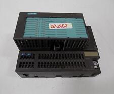 SIEMENS I/O MODULE 6ES7 131-1BH01-0XB0 W/TERMINAL BLOCK 193-1CH00-0XA0