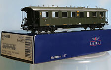 Liliput 334565 -Spur H0- DRG 2.Kl. Personenwagen B4i Bad 03, 4achs.,grün, Ep. 2