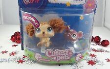 Littlest Pet Shop Cutest Pets Fluffy Furry Labradoodle Dog & Mouse #2421 #2422