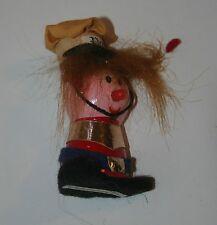 Vintage Kellogg's Pop Character 1972 Wooden Cereal Premium Memorbilia Kellog Co