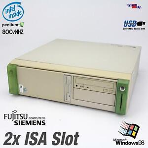 2x Isa Slot Computer Siemens Scenic XL 1107 D1107 PC RS-232 Parallel Pentium III