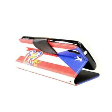 CoverON® for HTC Desire Eye Case - Wallet Pouch Folio Cover - Puerto Rico Flag