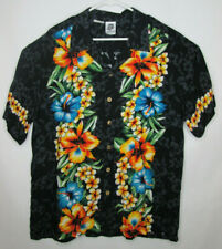 79b5b44a Kennington Ltd California Hawaiian Tropical Mens XLarge Button up Shirt  Vintage