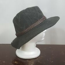 a0eb96cd92f33 David   Young D Y Panama Hat Gray Wool Women s NEW