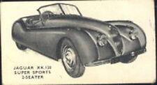 Kellogg - Motor Cars, black and white - 17 - Jaguar XK.120 Super Sports 2-Seater