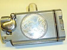 "Vintage Semi-Automatic Aluminium Lighter Kickstarter W. ""Maria - - Thérèse"" Thaler"