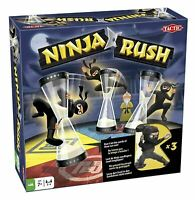 Ninja Rush Board Game by Tactic Games - Brand New & Sealed