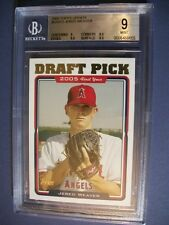 JERED WEAVER 2005 Topps Update #312 BGS MINT 9 RC Angels