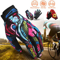 Full Finger Racing Motorcycle Gloves Cycling Bicycle Mountain Bike Riding Gloves