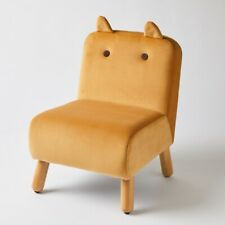Jiggle & Giggle Kids Chair Mustard with Ears