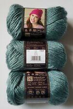 3 Skeins Lion Brand Landscapes 100% Acrylic Yarn 147 Yds. 3.5 oz. ea. SAGE