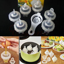 BEST PRICE Hard Boiled Egglettes Egg Cooker 6 Eggies Without Shells & Separator!