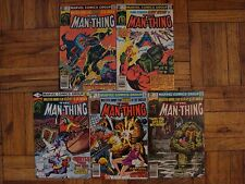 MAN-THING 1979 #1 TO 11 COMPLETE VF+ AVERAGE SET,DR.STRANGE AND MORE!!