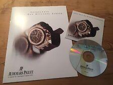 Livret + CD - AUDEMARS PIGUET - Chronographe Royal Oak Offshore Femme - Espagnol