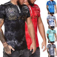 T-Shirt Shirt Shortsleeve Round Neck Kurzarm Rundhals Cote d Azur Tee Herren