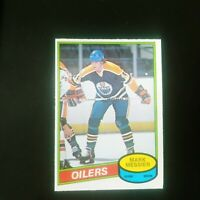1980-81 O-Pee-Chee Mark Messier #289 Rookie Card