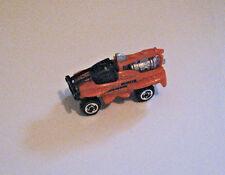 Hot Wheels XS-IVE Futuristic Jet Truck (Micro Sized Version) Orange, LN