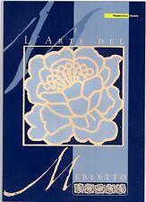 ITALIA -FOLDER 2004 - L'ARTE DEL MERLETTO - AL PREZZO PIU' BASSO DI EBAY