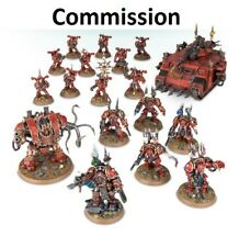 Chaos Space Marines Army Commission Superbly Painted Warhammer 40K