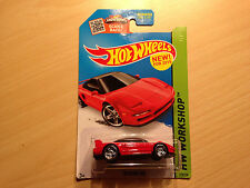Hot Wheels Workshop 1990 Acura NSX Red Diecast Scale 1:64