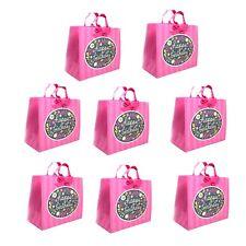 Hallmark Happy Birthday Bags, Pink 13 x 10 x 5.8 Lot of 8 Bags