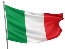 BANDIERA ITALIANA 90X150 IN STOFFA PER TIFO MONDIALI TRICOLORE NAZIONALE CALCIO