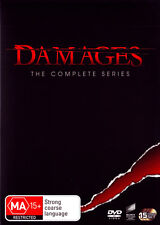 DAMAGES The Complete Season Series 1, 2 , 3, 4 & 5 DVD Box Set R4 New