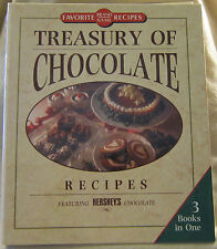 Treasury of Chocolate Recipes Fearuring Hershe's Chocolate Favorite Brand Names