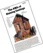 How-To #2 ABCs of Staining Castings Booklet-WOOD/HYDROCAL/PLASTIC HO/1:87