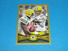 2012 TOPPS Aaron RODGERS - Gold Variant Team SP/2012 Green Bay PACKERS #163